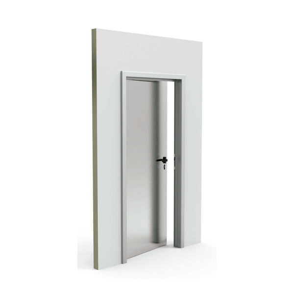 puerta pivotante impafri IE1 detalle